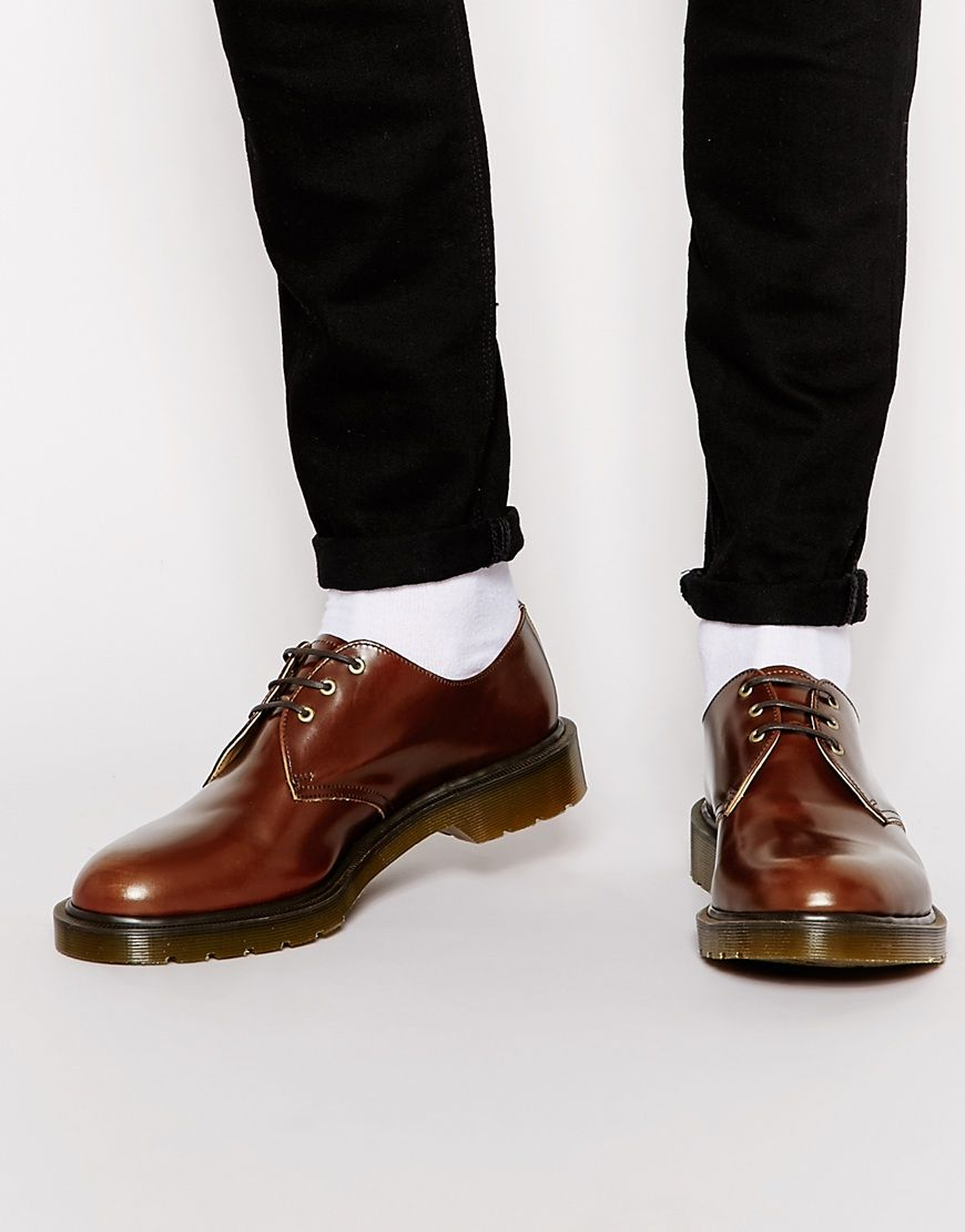 Dr Martens Made In England 1461 Shoes at asos.com