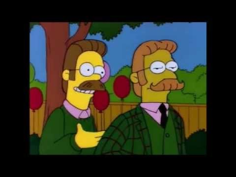 Lord Thistlewick Flanders Aengla Land 2 The Simpsons Disney