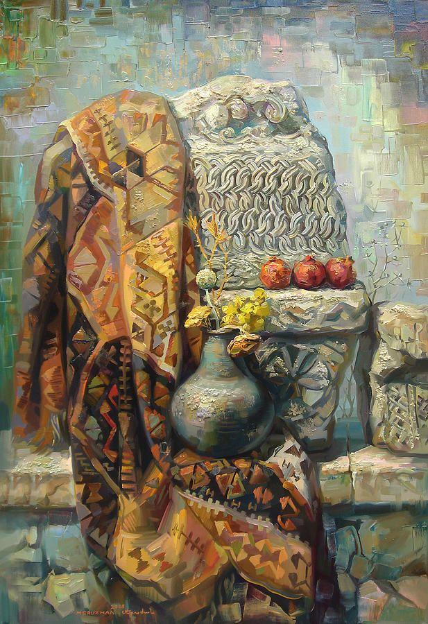 может комбинироваться фото картины армянских художников рассказывает себе