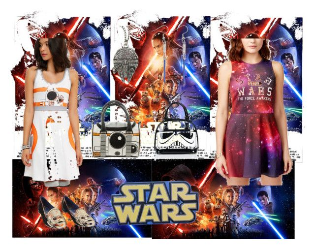 """""""Star Wars"""" by aaliyah-cade ❤ liked on Polyvore featuring Mighty Fine and Disney"""