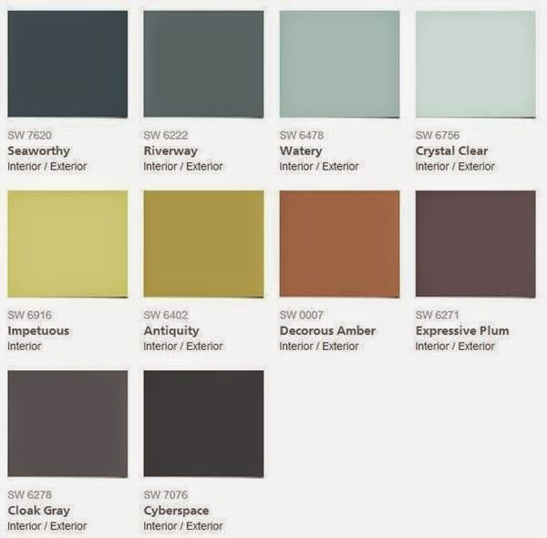 2015 Color Forecast   Sherwin Williams. House Color PalettesColor ...