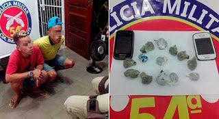NONATO NOTÍCIAS: Policiais da 54° CIPM prenderam irmãos gêmeos com ...