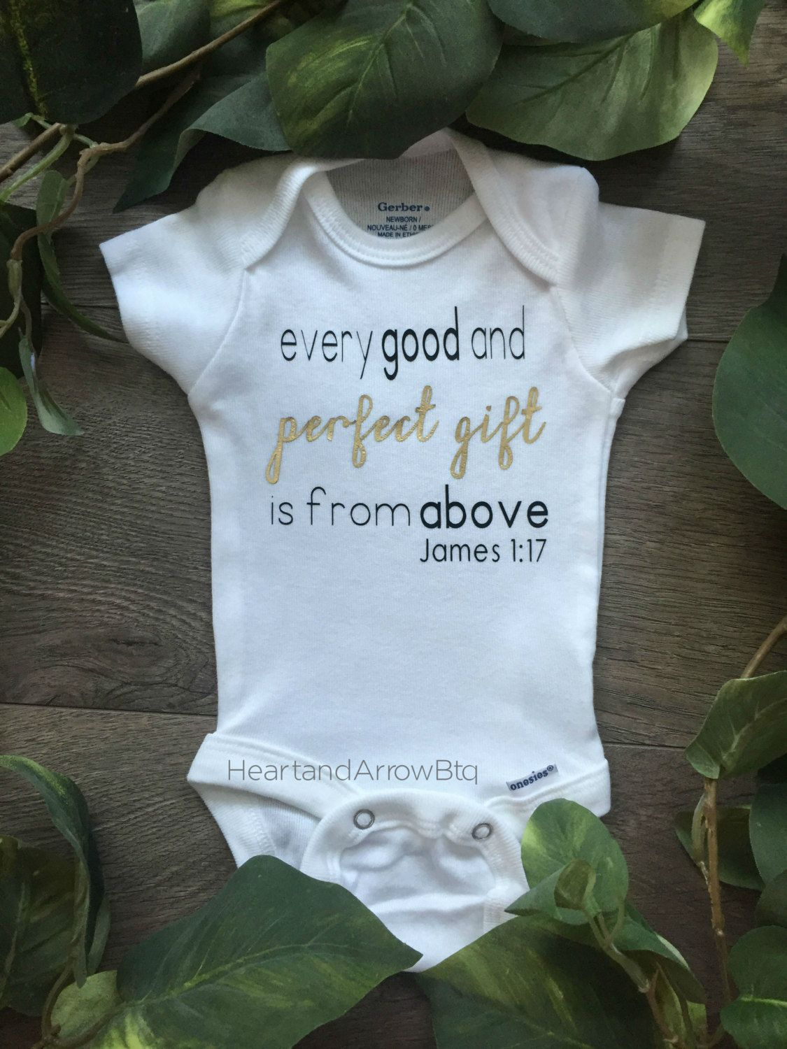 James bible verse baby onesie bodysuit tshirt newborn baby toddler newborn photography maternity photography religious bible verse by