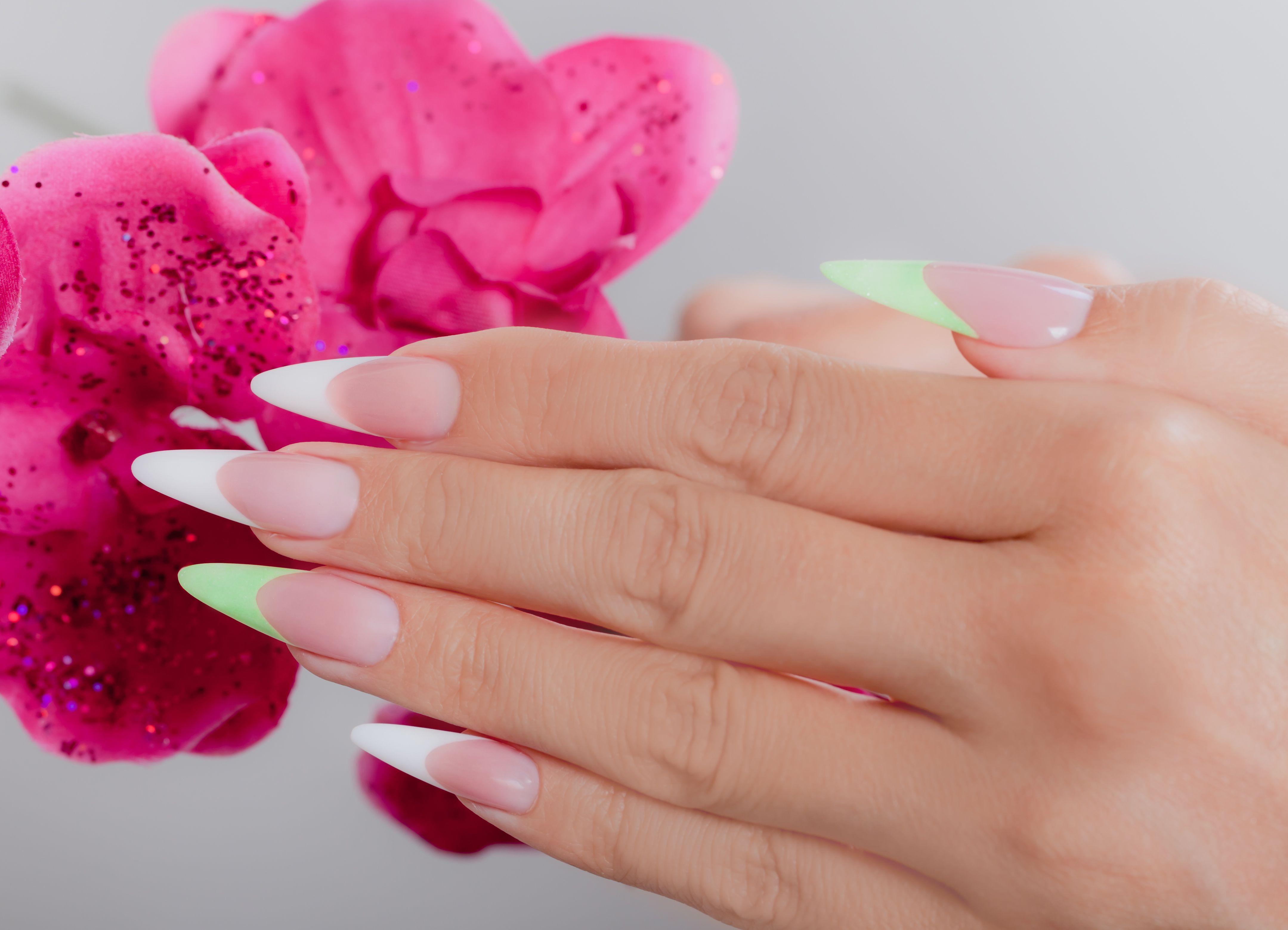 Classic almond nails | Nails | Pinterest | Almond nails ...