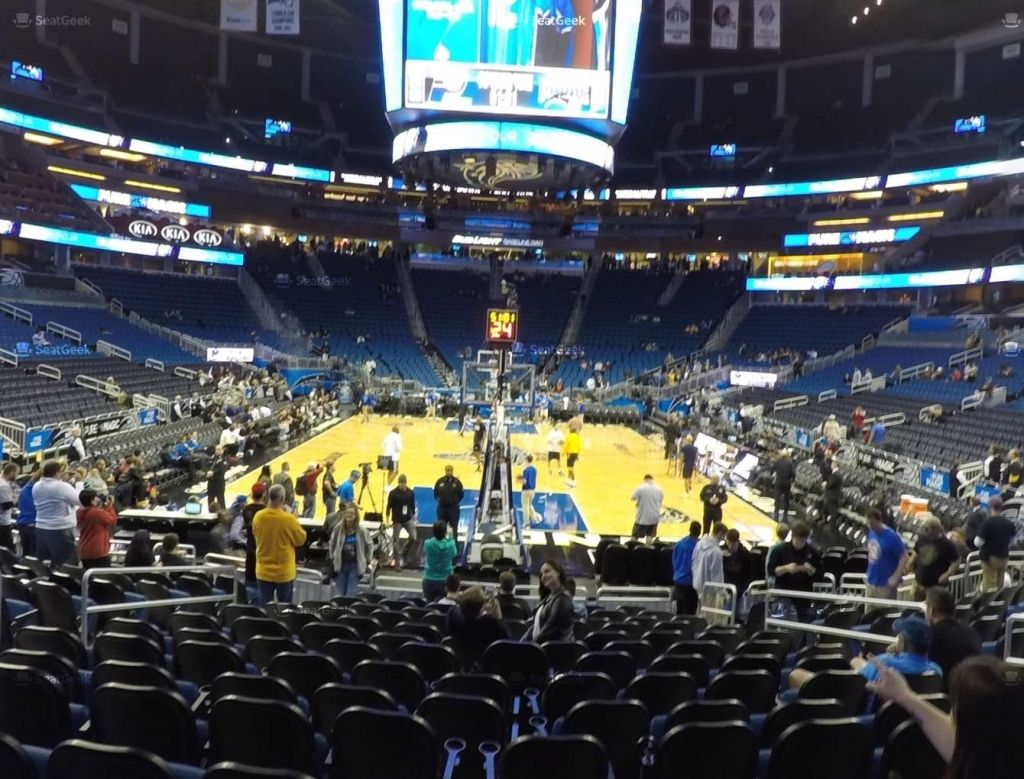 Amway Center Section 110 Seat Views Seatgeek Intended For Amway