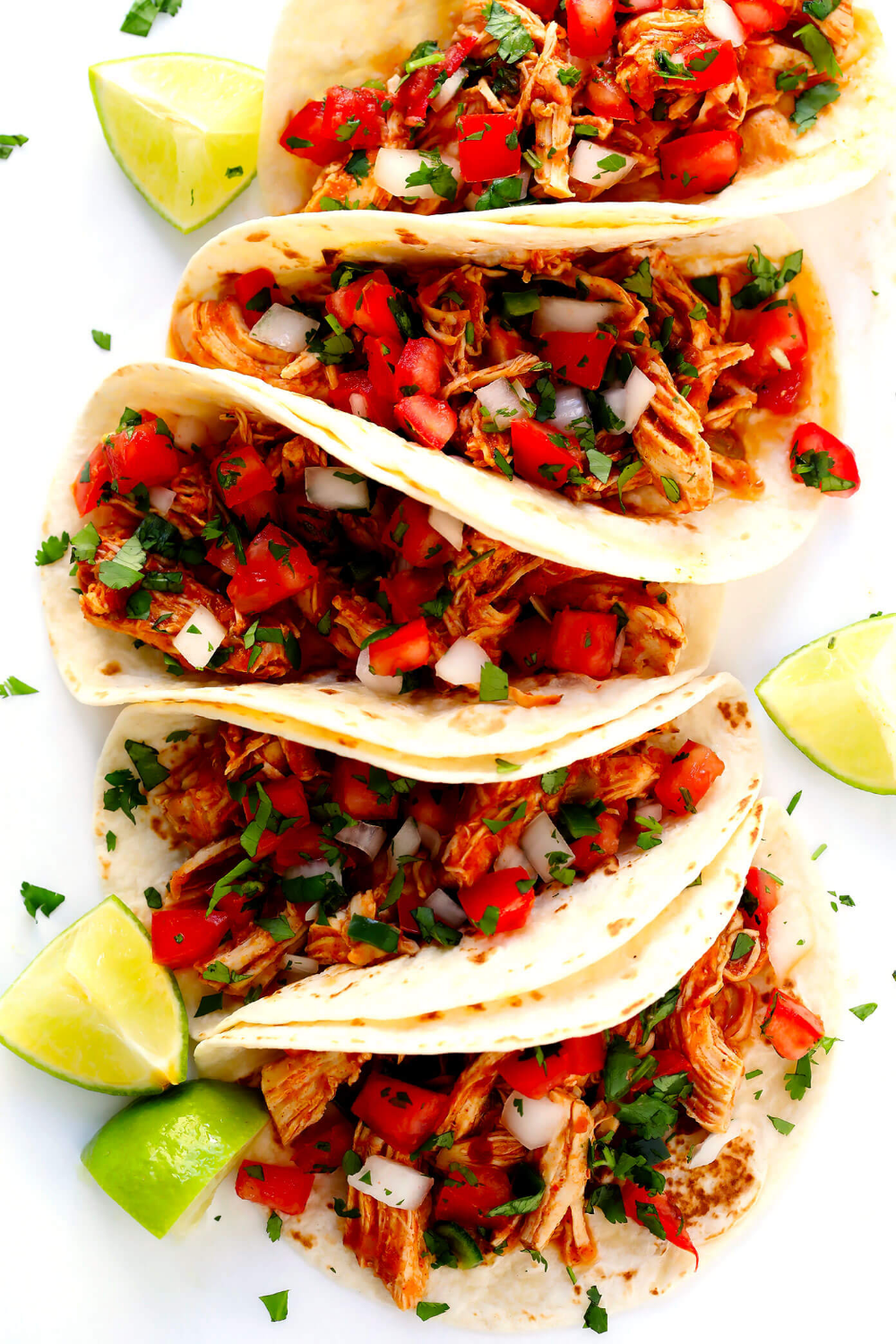 3-Ingredient Mexican Shredded Chicken #mexicanchickentacos