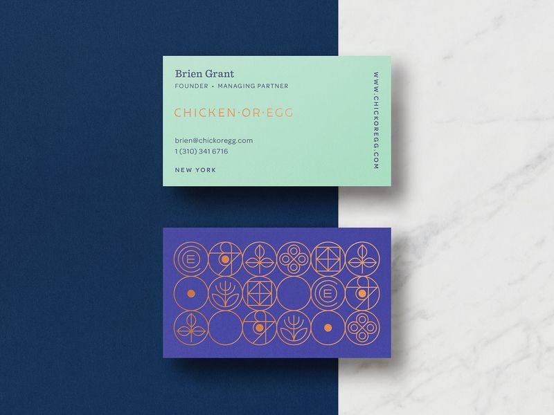 Coe Branding Business Card Design Branding Modern Business Cards