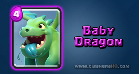 Find Out All About The Clash Royale Baby Dragon Card How To Get Baby Dragon Clash Royale Dragon Clash Baby Dragon