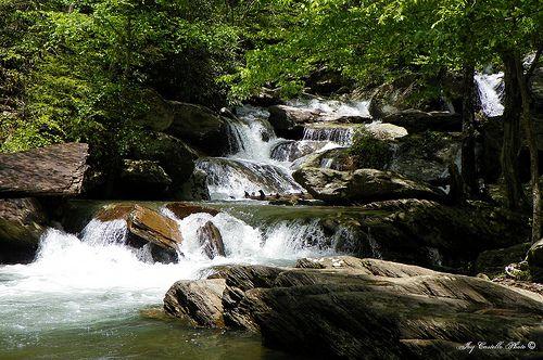 Goforth Creek Waterfall In The Ocoee River Gorge Ocoee River Attractions In Georgia Waterfall