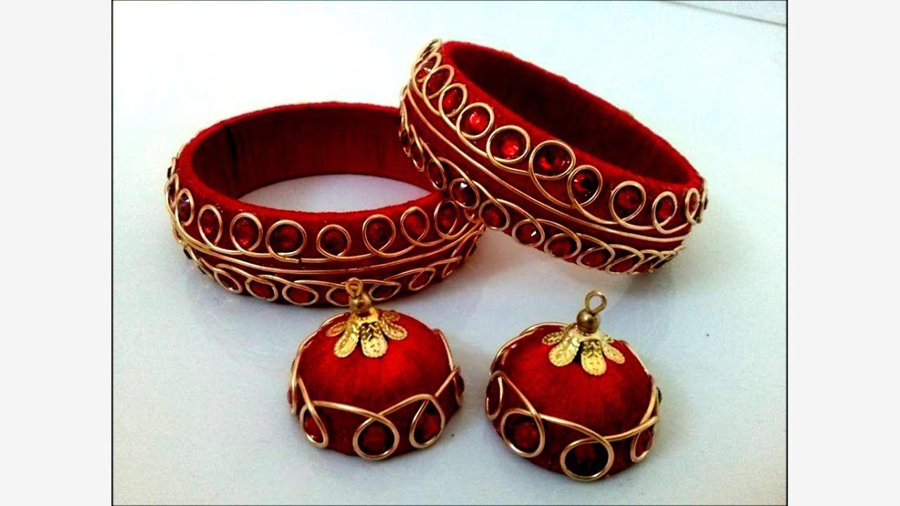 Silk Thread Bangles New Designs - Latest Silk Thread Jewellery ...