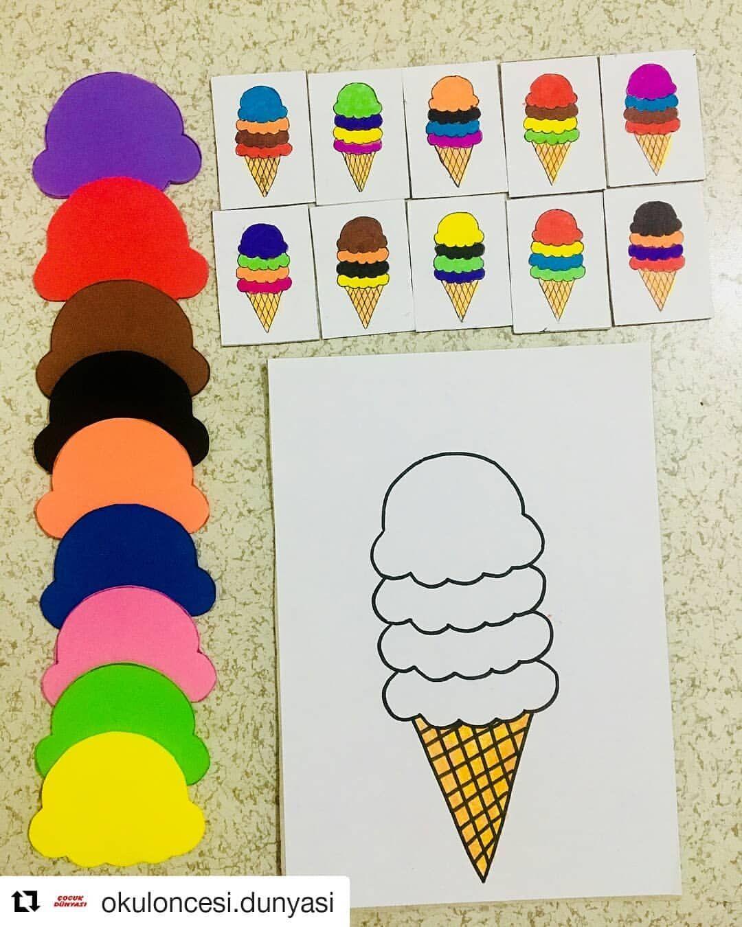 Tesekkurler Repost Okuloncesi Dunyasi Get Repost Tam Da Mevsimi Cocuklar Icin Yi Toddler Learning Activities Montessori Activities Toddler Activities