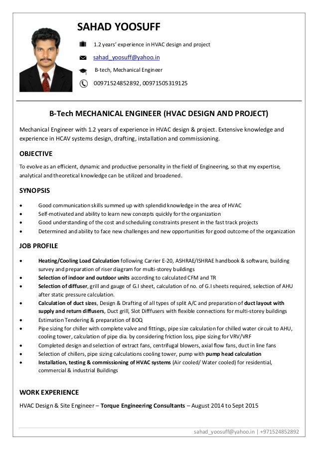Hvac Technician Resumes In 2020 Job Resume Examples Resume Examples Job Resume Samples