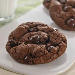 Jumbo Dark Chocolate Cookies Recipe