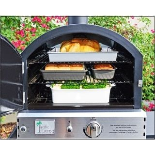 Blackstone 1575 Patio Pizza Oven | Overstock.com Shopping   The Best Deals  On Gas