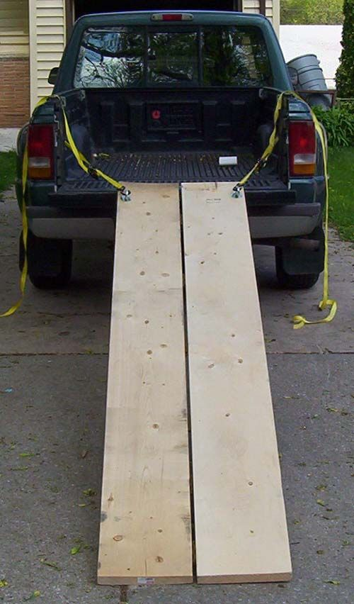 loading ramp diy - Cerca con Google | Home ideas | Loading ramps
