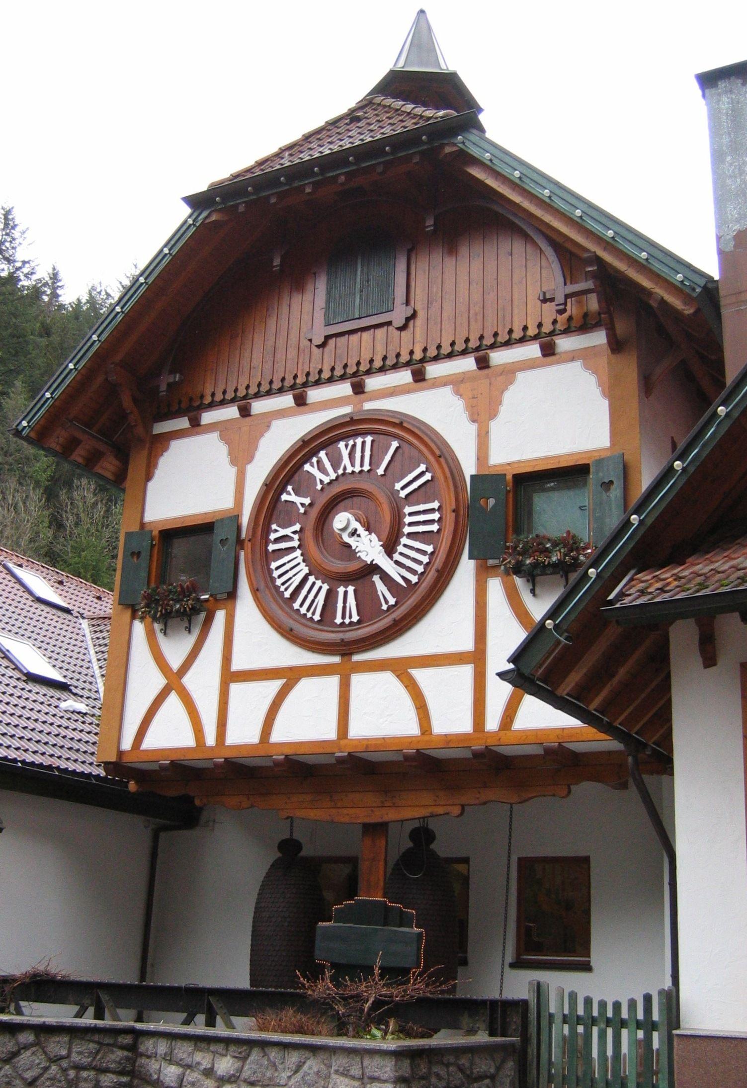 Triberg Triberg Cuckoo Clock Black Forest Germany