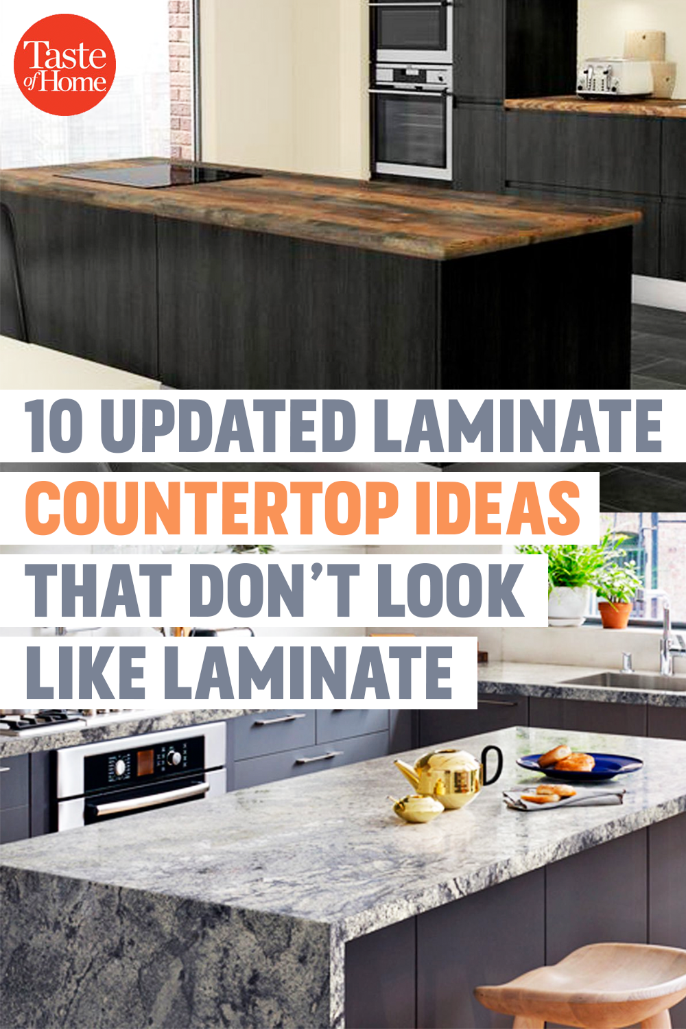 10 Updated Laminate Countertop Ideas That Look Like Anything But Laminate Countertops Laminate Countertops Replacing Kitchen Countertops