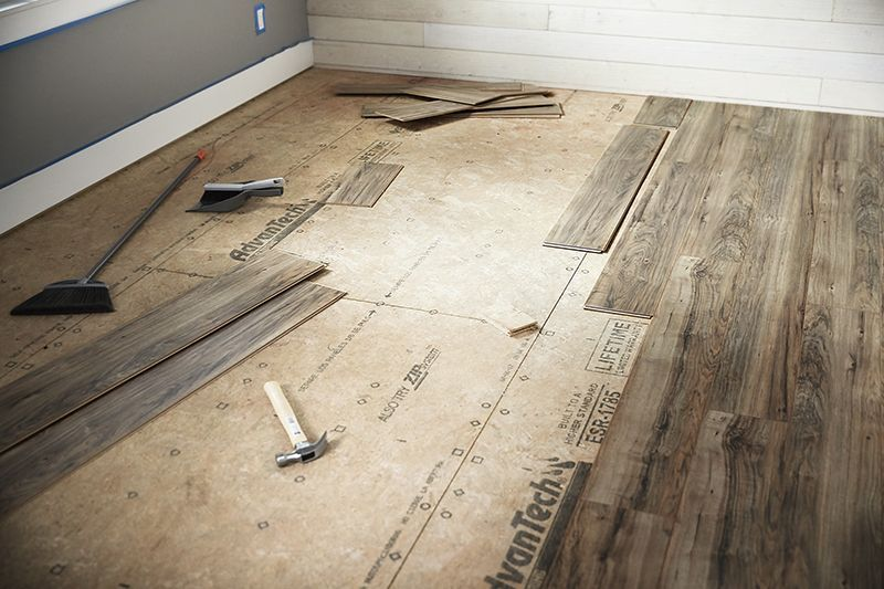 Installing Laminate Is Easier With A Variety Of New Products That Go