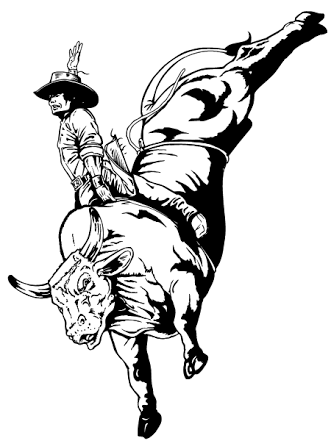 bull riding drawings - Google Search | Cowboy artists