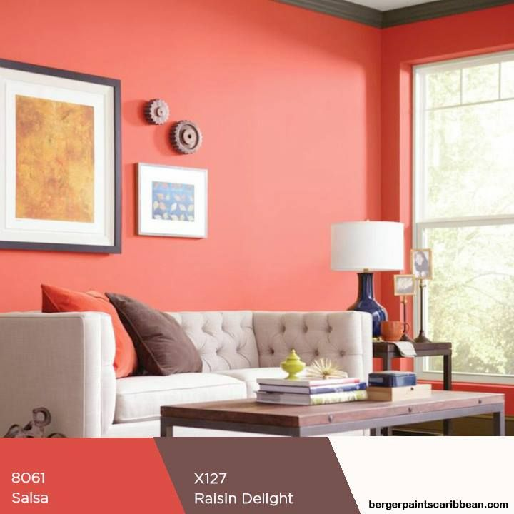 Shades of red raises a room\'s energy level, you can balance it with ...