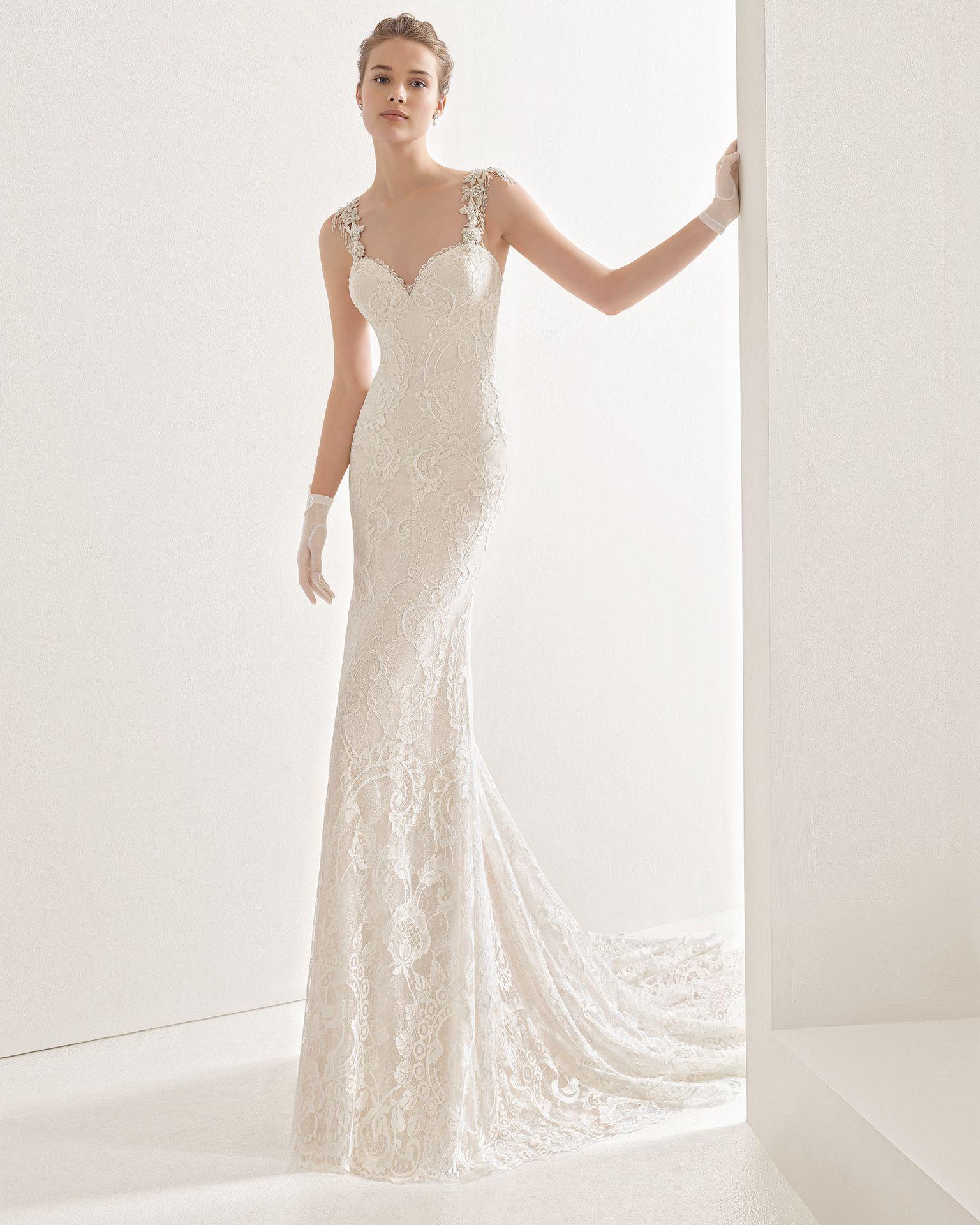 Naila - 2017 Bridal Collection. Rosa Clará.
