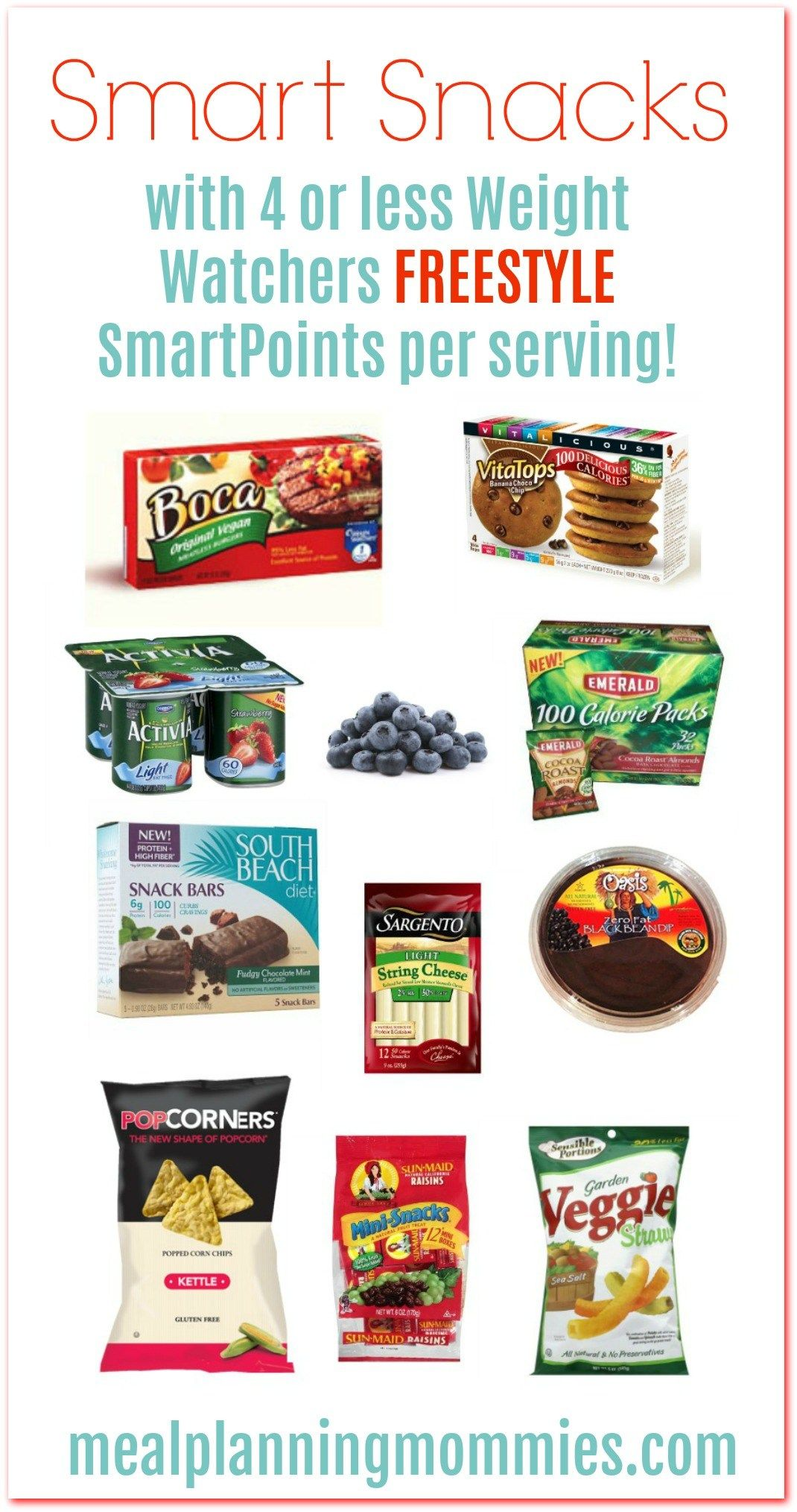 weight watchers freestyle smart snacks with ww smartpoints smart
