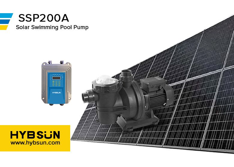 Dc Solar Swimming Pool Pump Ssp200a Ssp Series Solar Swimming Pool Pump Permanent Magnet Brushless Solar Water Pump Water Pump System Solar Powered Water Pump