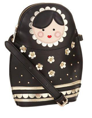 Russian Doll Crossbody Bag