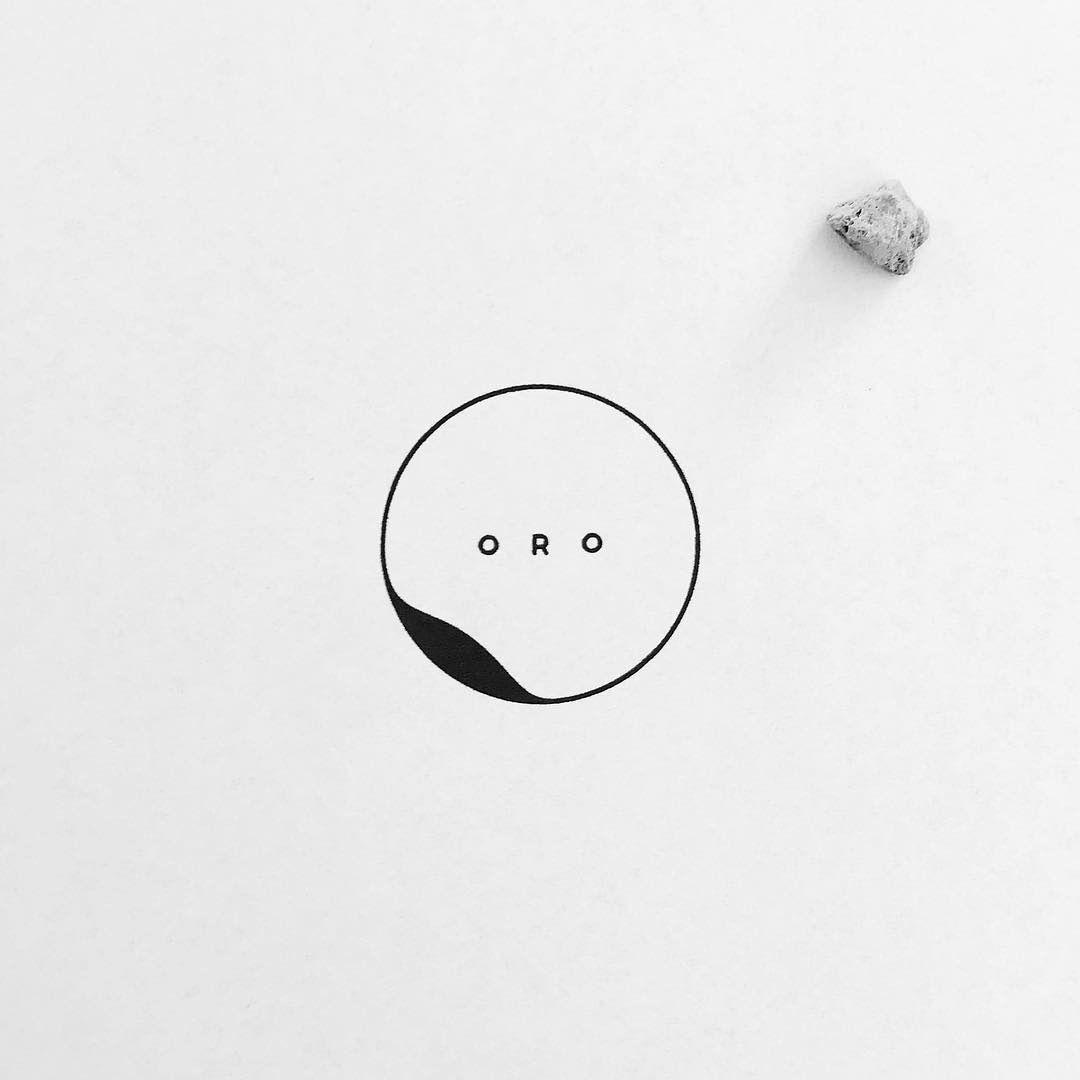 "Logos & Design Inspiration on Instagram: ""@mationdesign - ORO . A very minimal logo design for a bar . Follow @logos.ai #logosai"""