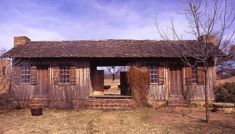 Frontier House The Dogtrot Log Cabin Where William