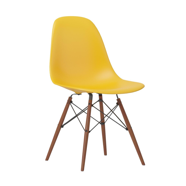Amazon.com: Poly and Bark Vortex Side Chair Walnut Legs ...