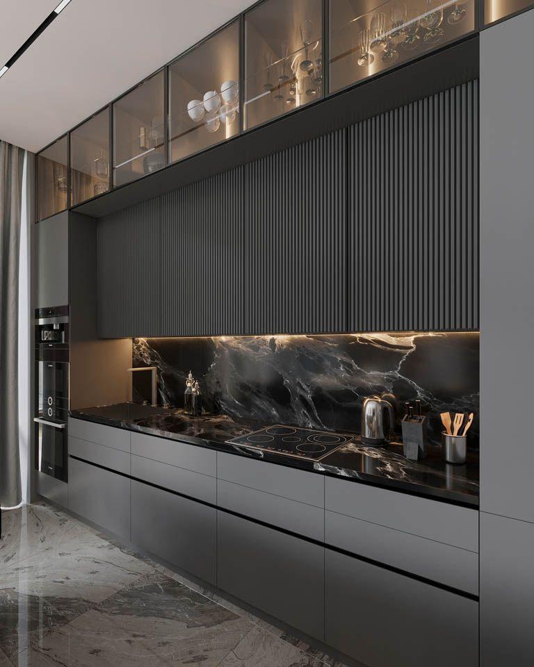 Дизайн интерьера  – площадью 208 м2 – Футуро Парк