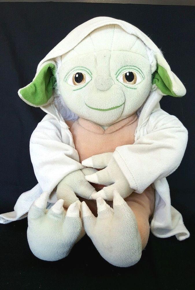 Star Wars Yoda Plush Stuffed Animal Green Boy Girl Toy 18 Tall Usa