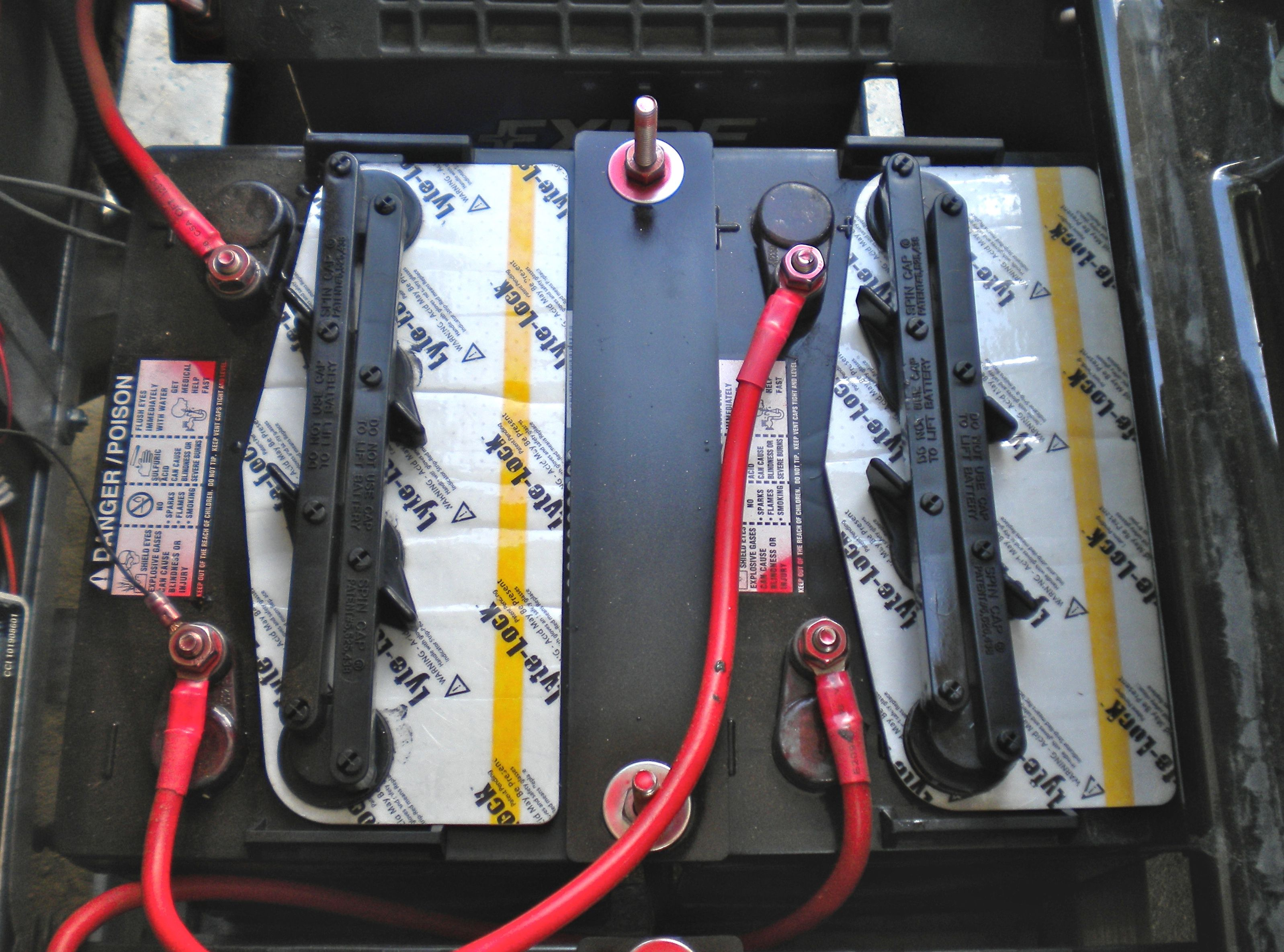 Prevent Golf Cart Battery Corrosion With Battery Covers