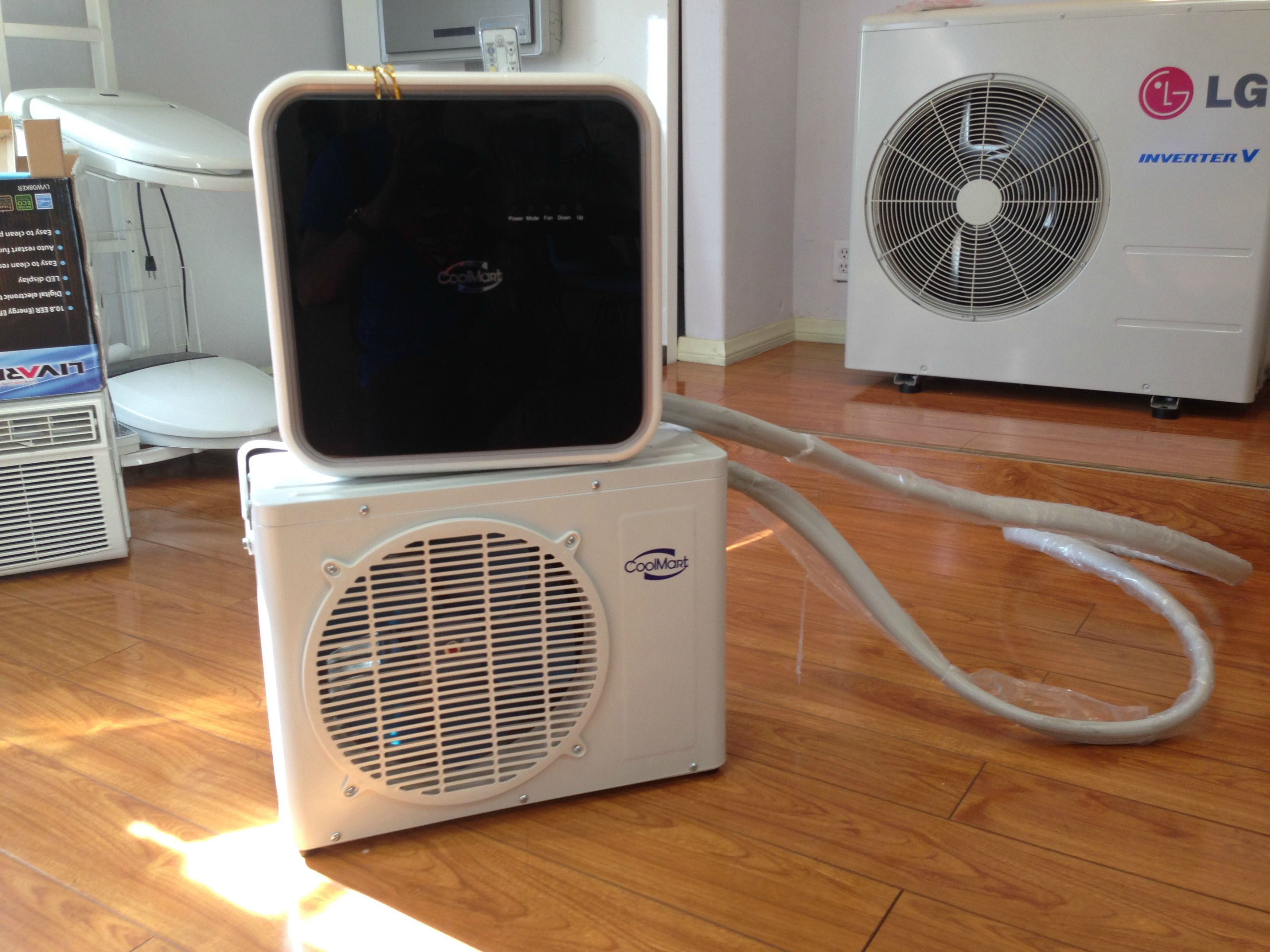 mini split air conditioner portable diy air conditioner pinterest diy air conditioner. Black Bedroom Furniture Sets. Home Design Ideas