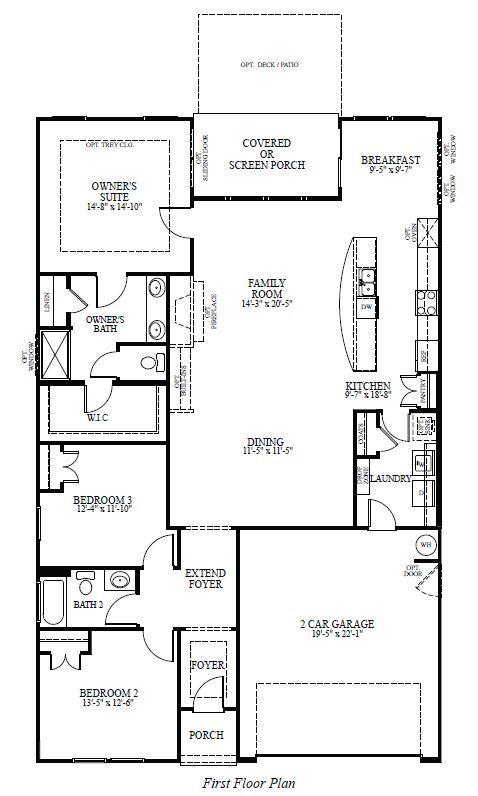 Azalea Villages At Skybrook North Concord North Carolina Concord Floor Plans New Homes