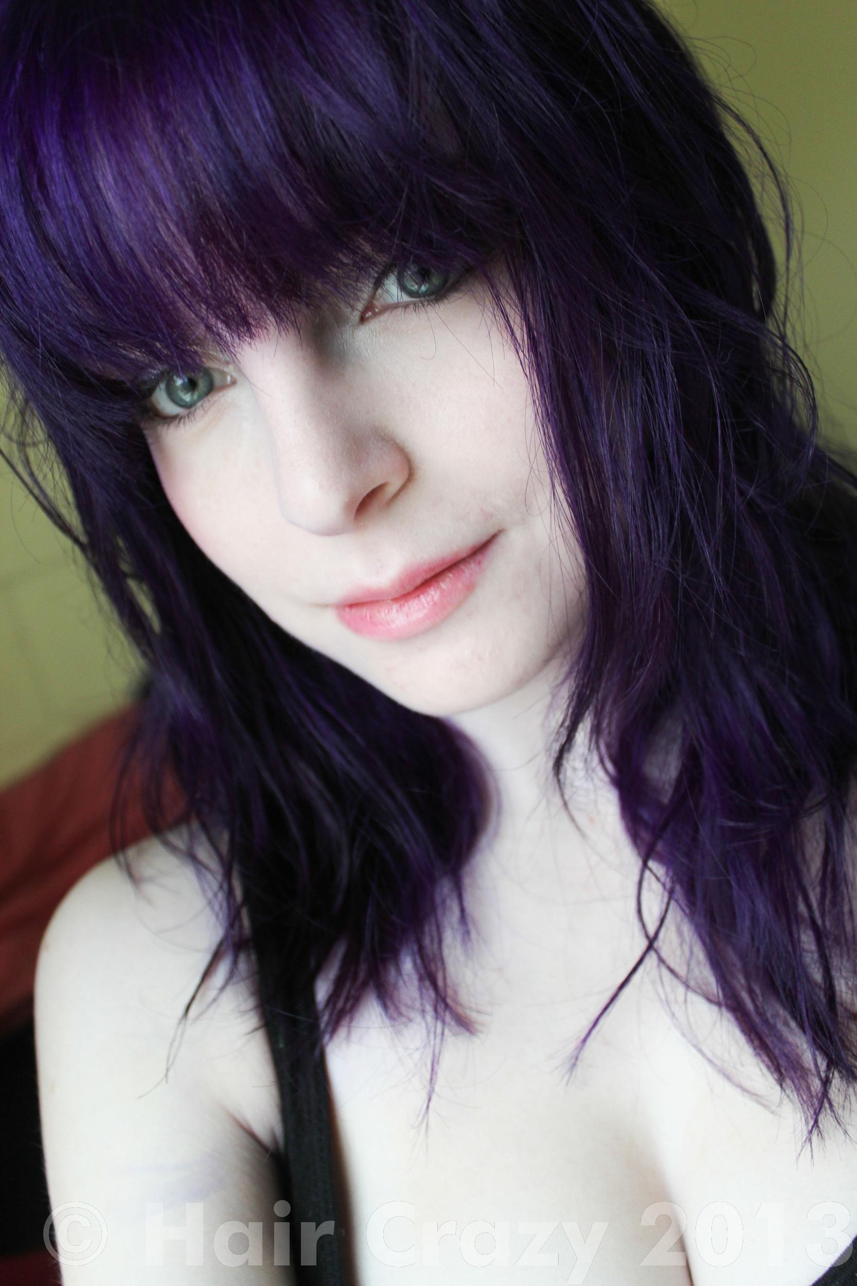 pravana hair color purple - Google Search
