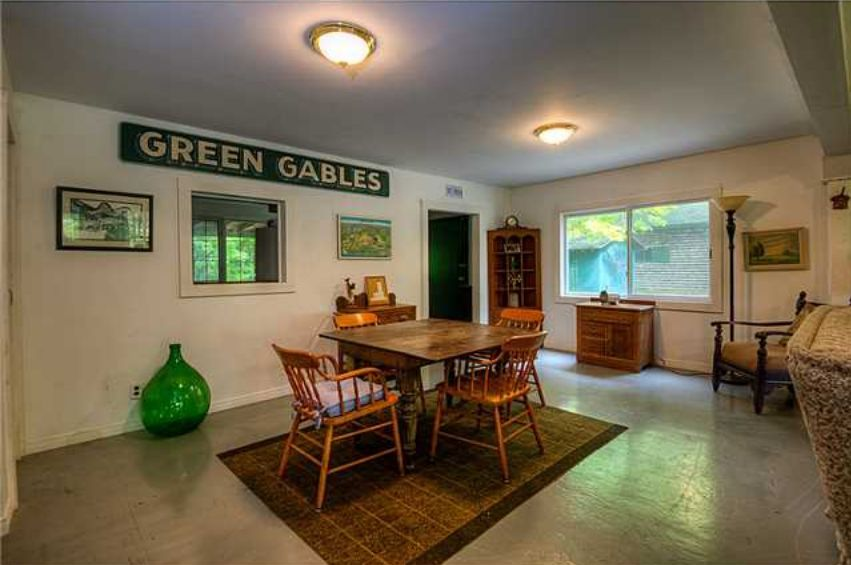 The Dining Room Area   The Sign Green Gables Originally Hung At My  Grandparents Tourist Home And Cabins In Crystal Beach Ontario