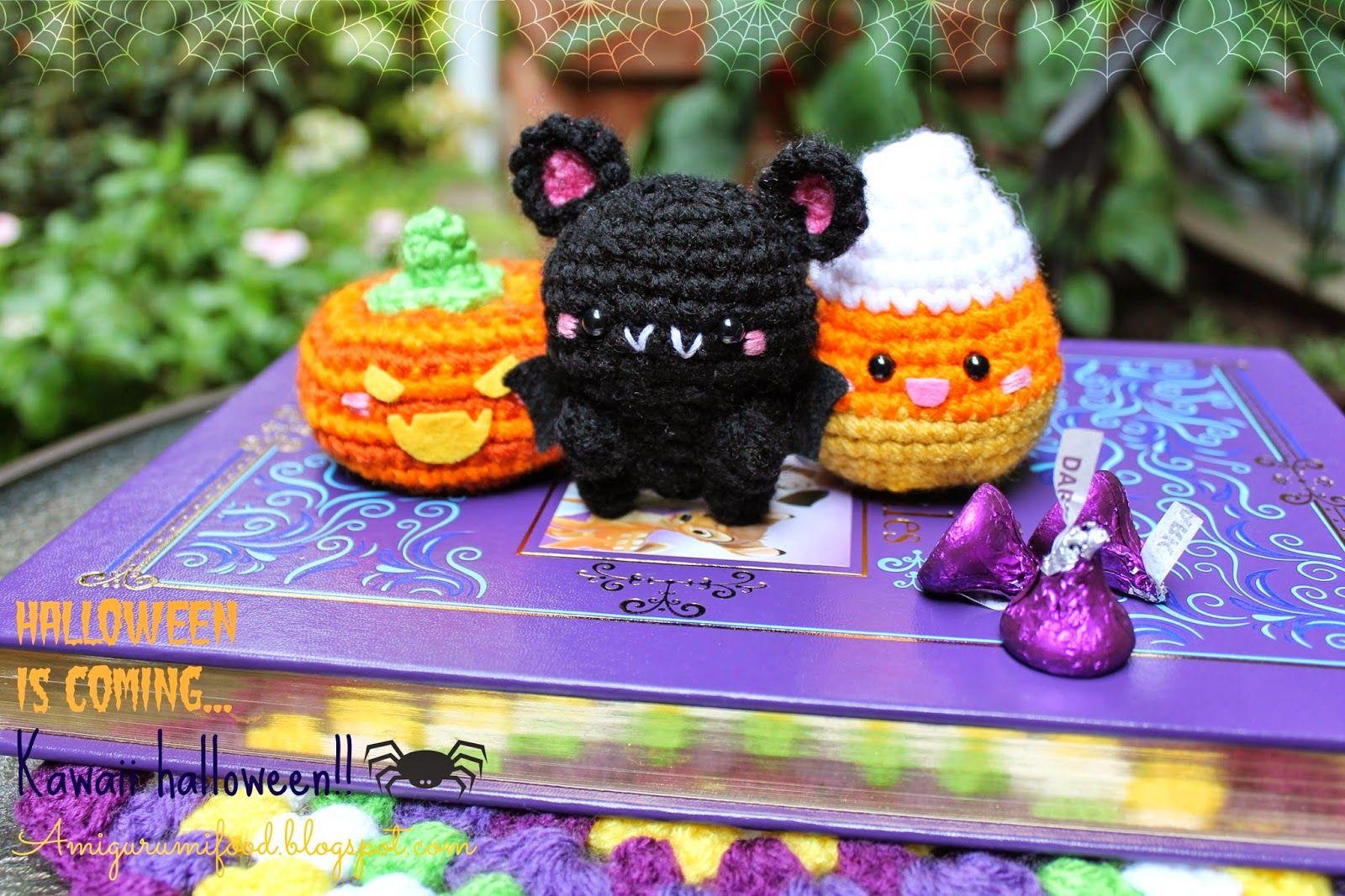Amigurumi Food: Halloween is coming! Kawaii Halloween! | free ...