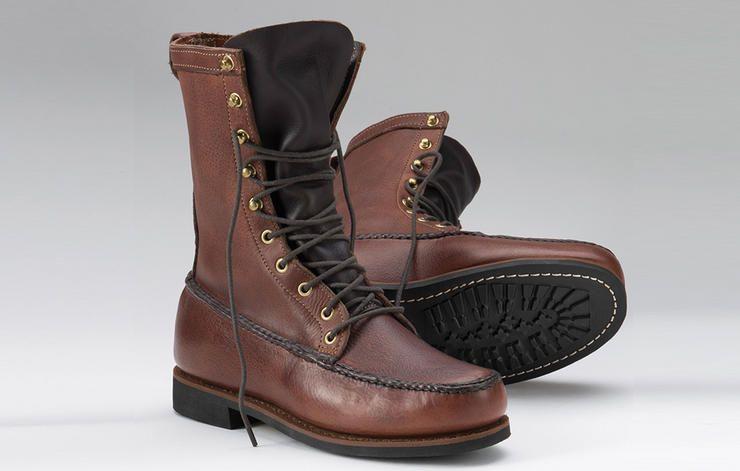 48f1c94f91583 16 mejores botas de invierno para hombres. calzado hombre bota invierno.  Botas de caza Orvis. boot shoe men winter. Botas altas color café con  agujetas ...