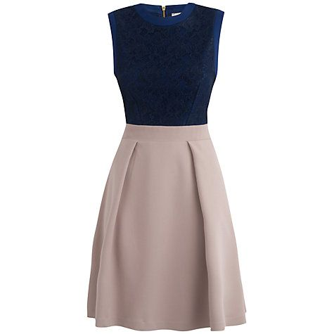 Almari lace top dress
