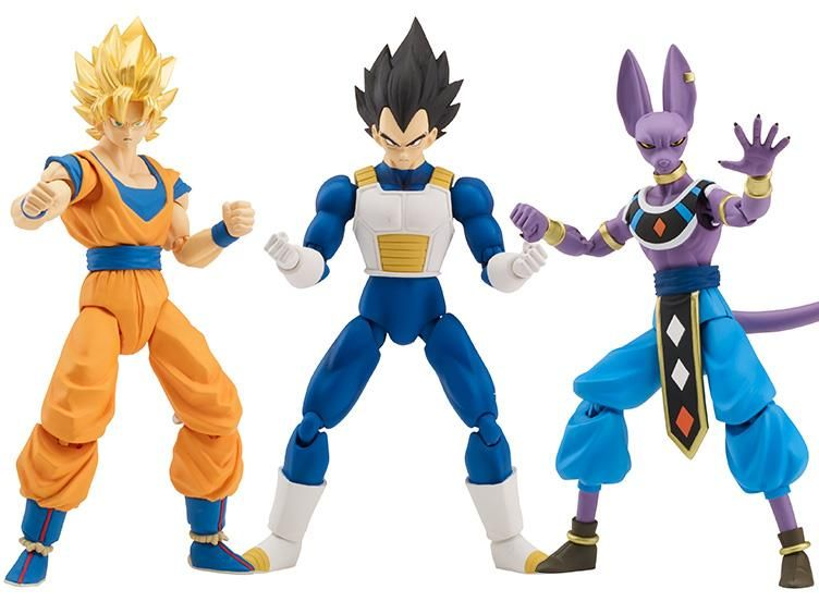 Blue Gogeta /& Buu Dragon Ball Z Stars Series Wave 11 Set Super Saiyan 2 Gohan