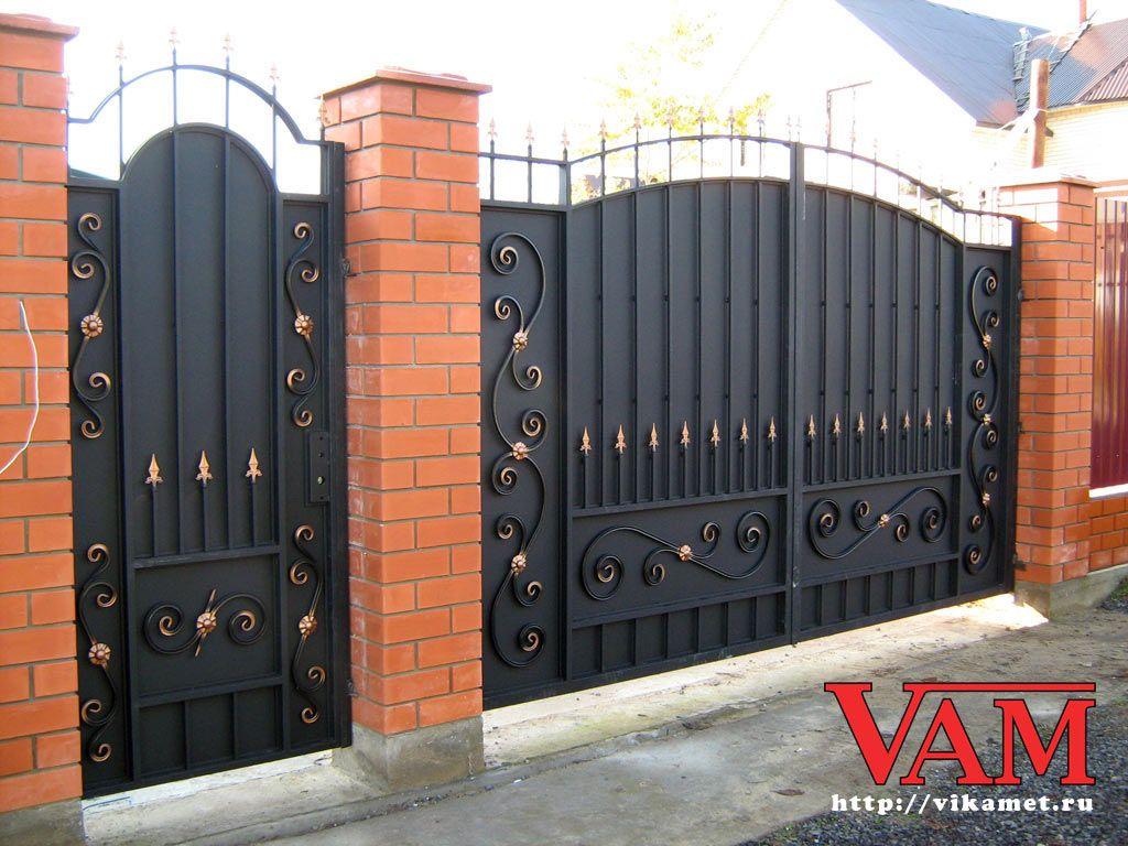 Vorota Poisk V Google Fence Gate Design Door Gate Design House Main Gates Design