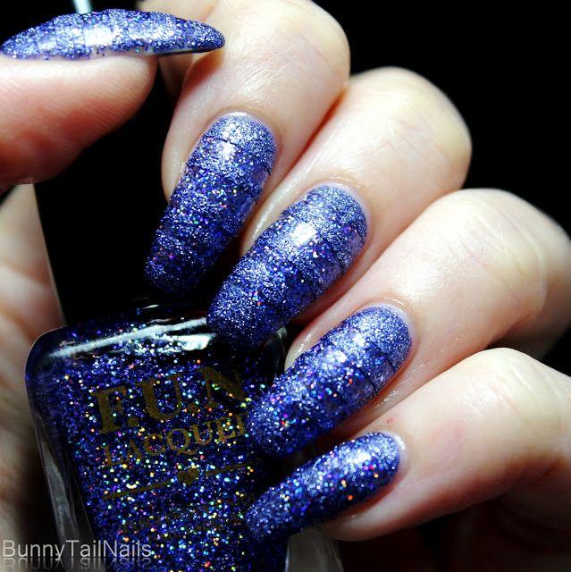 BunnyTailNails: Galaxy Stripes Back!
