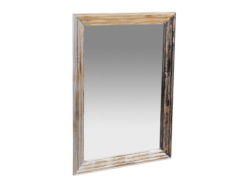 Espejo envejecido de madera Cottage   Espejo envejecido, Envejecer y ...