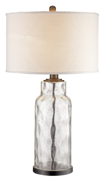 Maeline 29 Table Lamp In 2021 Table Lamps Living Room Clear Glass Table Lamp Farmhouse Lamps