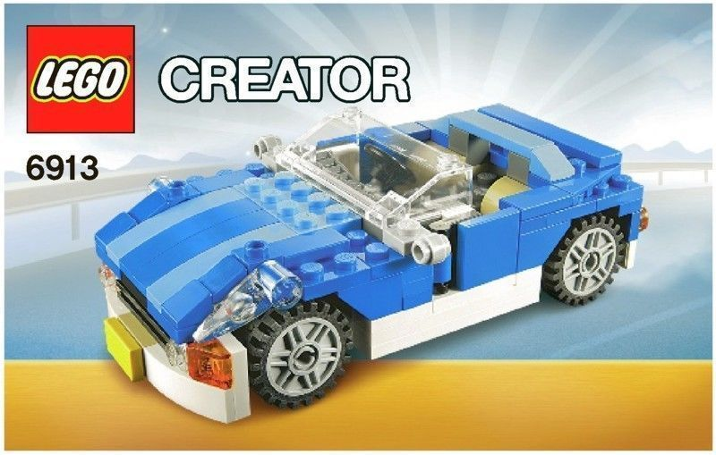 Lego Creator Blue Roadster 6913 Instruction Manualafflink Lego