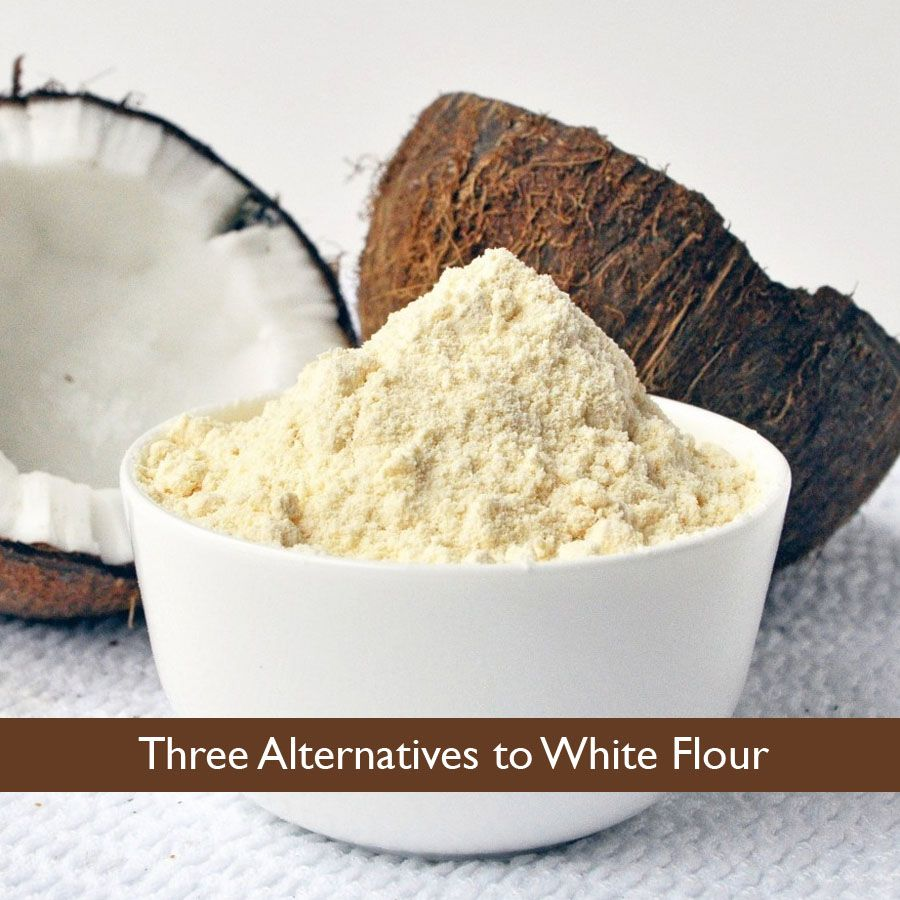 Three Alternatives to White Flour