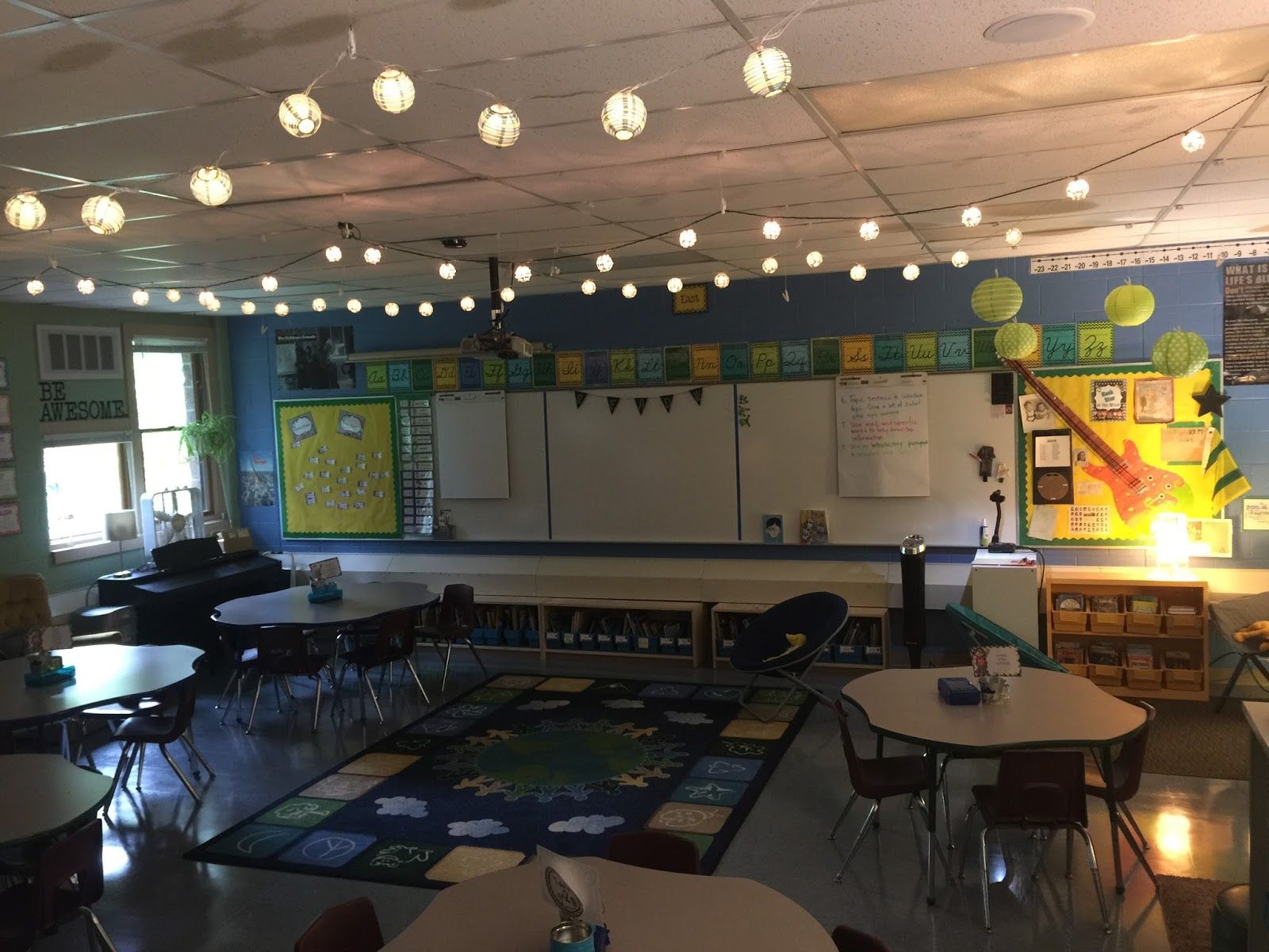 Classroom Lighting Design ~ I like the lighting in this one flexible learning