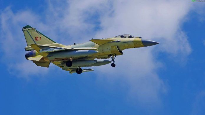 China's J-10C